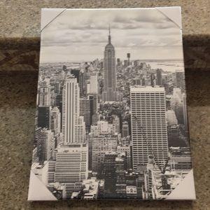 New York canvas NYC SKYLINE Statue of Liberty